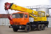 Автокран грузоподъемность 25 тонн вылет стрелы 22 м в аренду