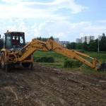 экскаватор-погрузкик напрокат в Москве